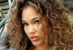 curly hair highlights picture 11