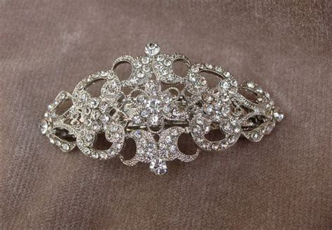 rinestone hair clips picture 7