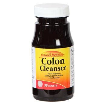 nature's measure colon cleanser ingredients picture 1