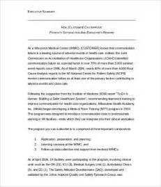 health education executive summary guidelines picture 3