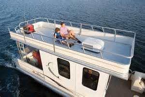 pontoon boats sleeping picture 3