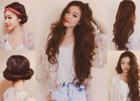 curly hair without curlers picture 7