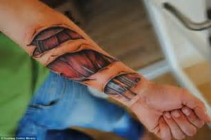 bicep muscle tissue tattoos picture 7