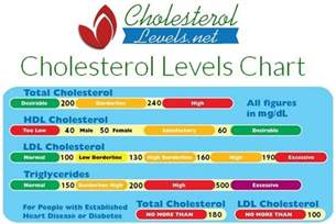 Safe cholesterol level picture 2