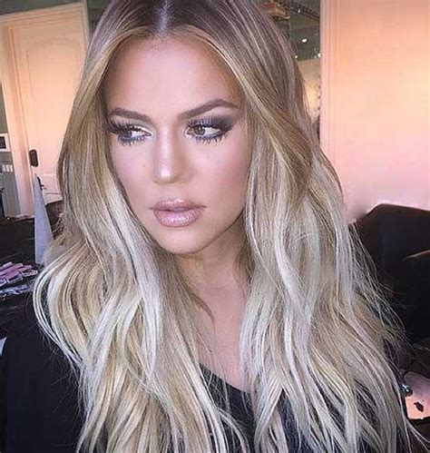 blonde hair with black highlightts picture 6