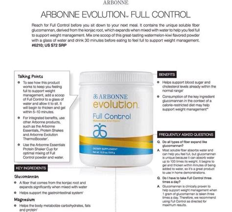 where to buy arbonne full control picture 1