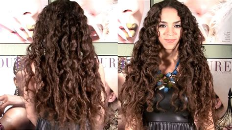 curly hair without curlers picture 1