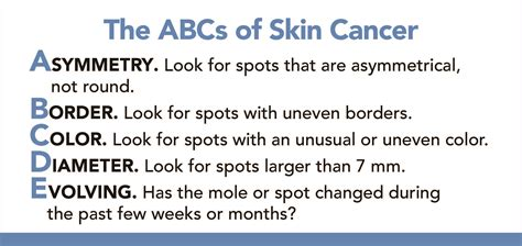 abcs of skin cancer picture 11
