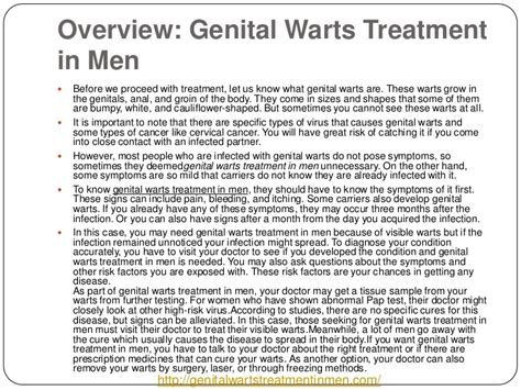 risks of transmitting genital warts from a male picture 3