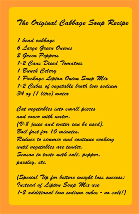 diet soup recipe picture 13