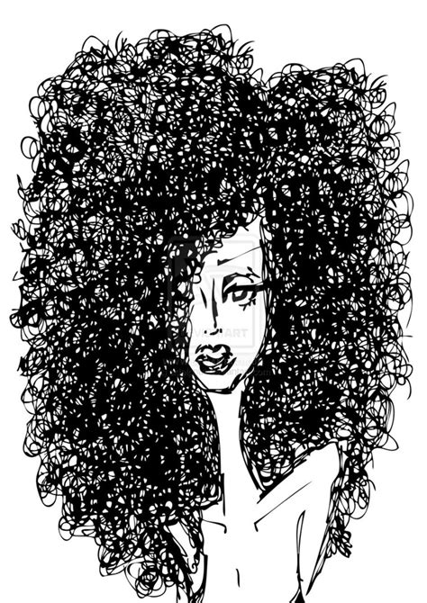 curly hair clipart picture 9