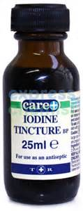 can i use iodine tencture for the iodine picture 6
