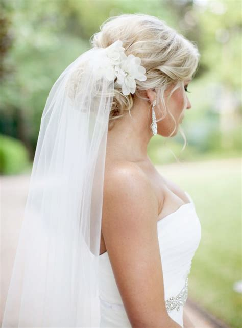 wedding hair styles wh veil picture 10
