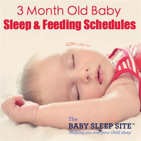 a sleep schedule for your 3 month old picture 1