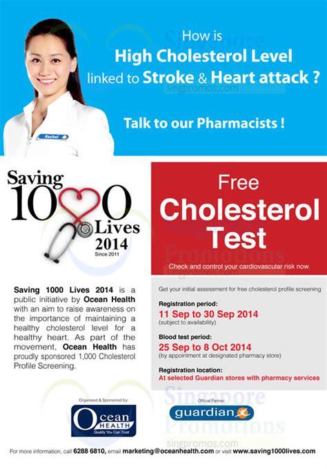 free cholesterol screenings in ocean county picture 1
