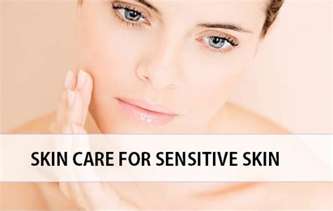 caring for sensitive skin picture 4