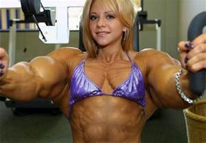 insanely huge female muscle morphs picture 7