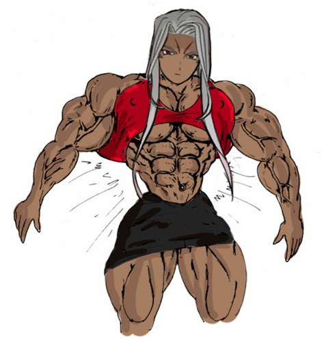 anime female muscle picture 13