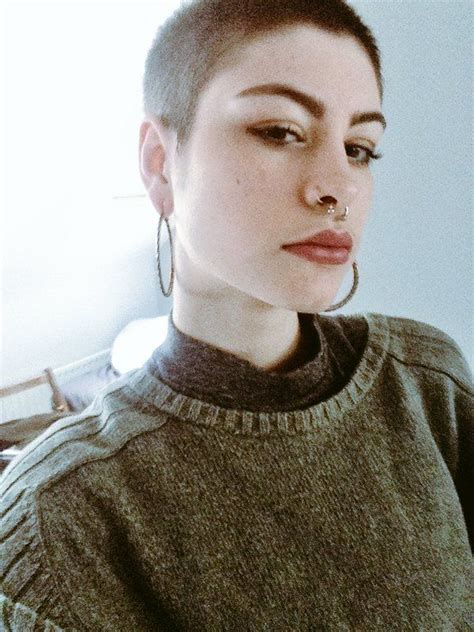 fulker shaved head women picture 9