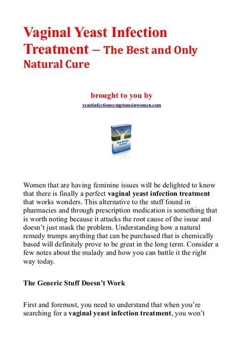 what are the best natural cures for yeast infection picture 3