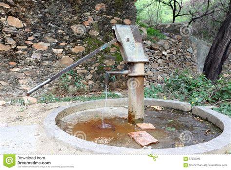 flush ground well pump debris picture 9