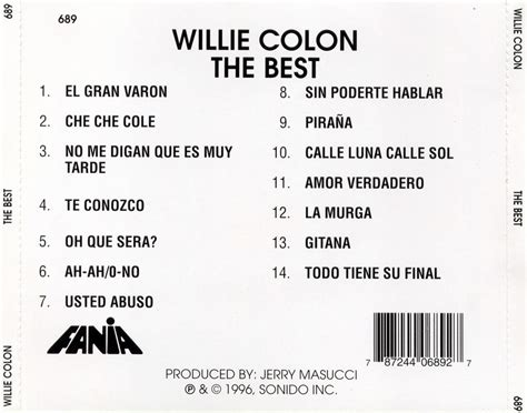 willie colon the best picture 6