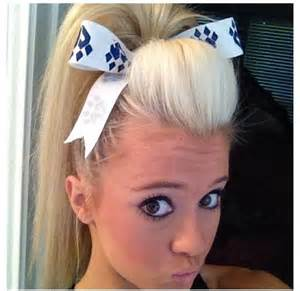 cheer hair picture 9