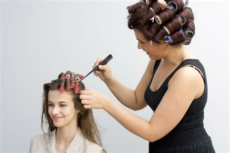 women who like curling crossdressers hair on rollers picture 13