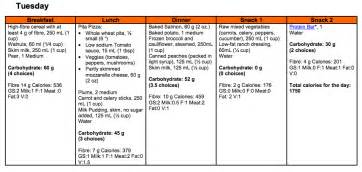 guidelines for type ii diabetic menus picture 10