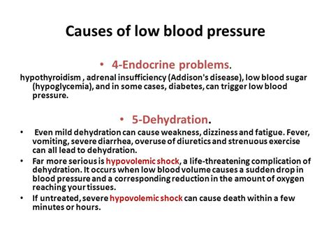 causrs of sudden drop in blood pressure picture 13