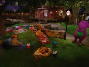 kids on barney sleeping together picture 2