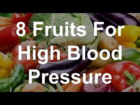High blood pressure fruit picture 6