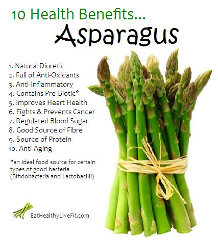 health benefits of asparagas picture 1