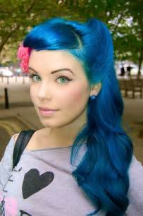 Blue hair picture 10