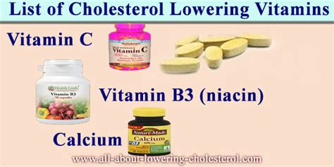 Cholesterol lowering vitamins picture 2