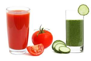 tomato and cucumber juice acne picture 3