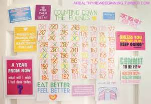 wall chart for weight loss monitoring picture 3