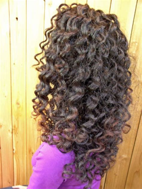 procedure for spiral perm on hair picture 11