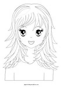 coloring long hair picture 11