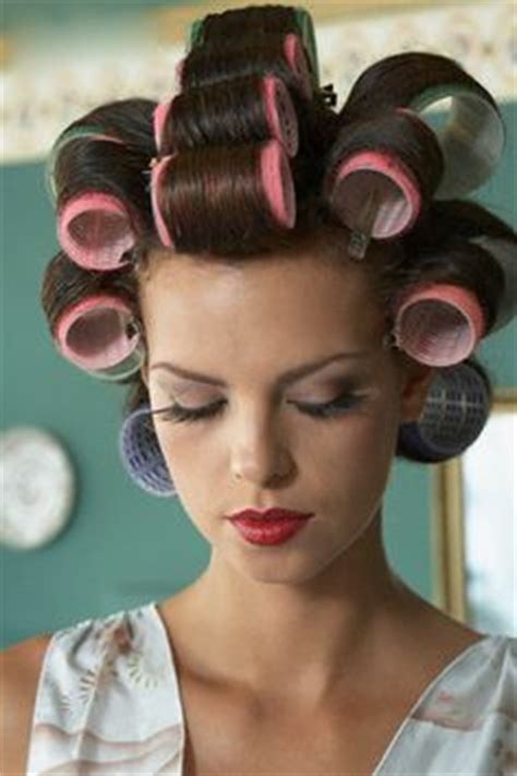 women who like curling crossdressers hair on rollers picture 1
