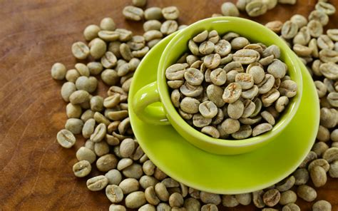cheap pure green coffee bean picture 13