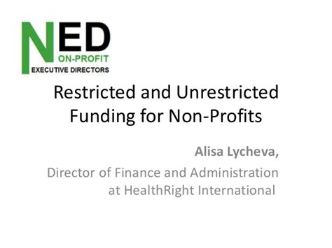 finance restricted and unrestricted net in health picture 1