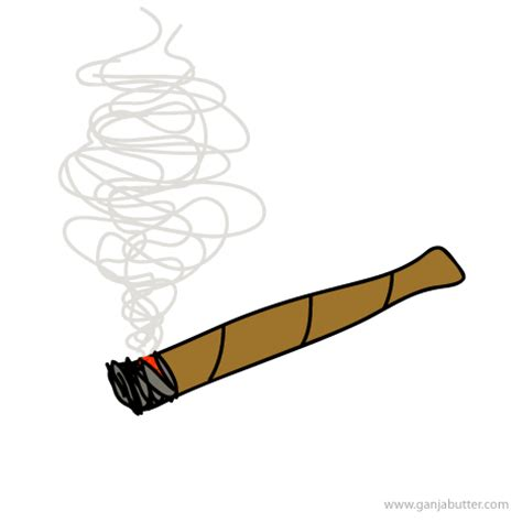 cartoon smoking joint picture 14
