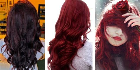 can dyed red hair go to brunette picture 5