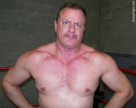 wrestling muscle men picture 11