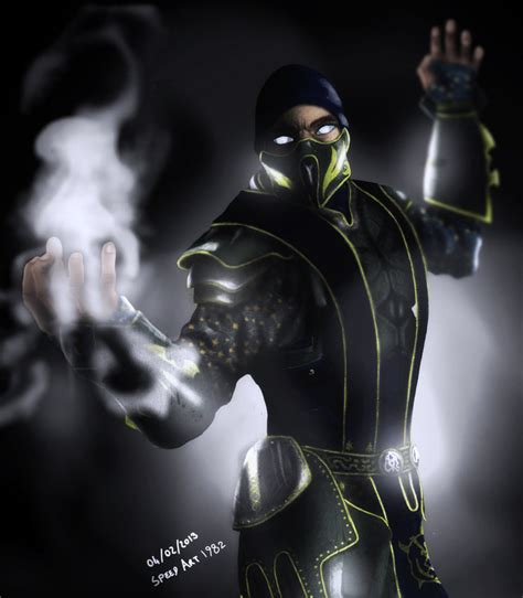 mortal kombat smoke picture 7