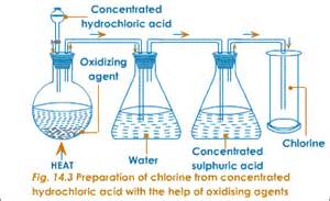 a reason why hydrochloric acid is produced in picture 19