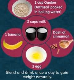 Find weight gain shakes recipes picture 6