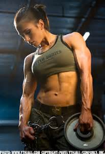 female muscle board picture 15