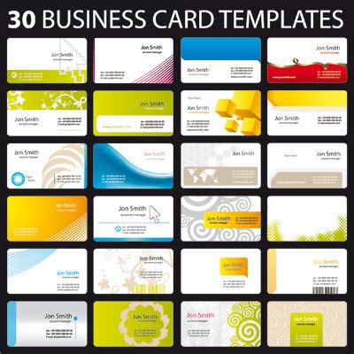 free online business card templates and photos picture 1